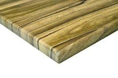 Drewniany gabinetowego drzwi kąta szczegół Zdjęcia Stock