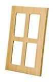 drewniany gabinetowy drzwi Obrazy Stock