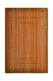 Drewniany gabinetowy drzwi Zdjęcie Stock
