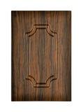 Drewniany gabinetowy drzwi Zdjęcie Royalty Free