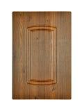 Drewniany gabinetowy drzwi Fotografia Royalty Free