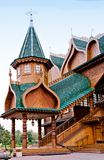 Drewniany ganeczek Fotografia Royalty Free