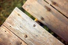 Drewniany Grunge tło Zdjęcie Stock