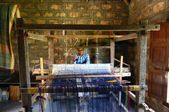 Drewniany Handloom Fotografia Stock