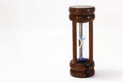 Drewniany hourglass Fotografia Royalty Free