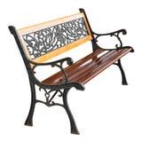 Drewniany i aliaż krzesło fotografia royalty free