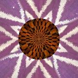 Drewniany i Sukienny abstrakta wzór Obraz Royalty Free