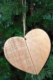 Drewniany jeleń zdjęcia stock