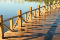 Drewniany jetty Fotografia Stock