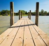 Murray rzeki Jetty Zdjęcie Stock