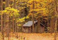 drewniany kabin Zdjęcia Royalty Free