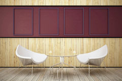 drewniany karło pokój dwa Obraz Stock