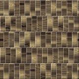 Drewniany kasetonować dla bezszwowego tła Obraz Royalty Free