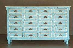 drewniany klasyczny dresser Zdjęcie Stock