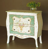 drewniany klasyczny dresser Zdjęcie Royalty Free