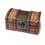 drewniany klatki piersiowej Fotografia Stock