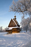 Drewniany kościół. Zdjęcia Royalty Free