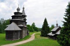 Drewniany kościół Zdjęcia Royalty Free