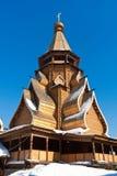 Drewniany kościół fotografia royalty free