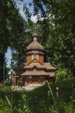 Drewniany kościół Obraz Stock