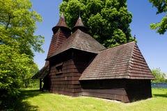 drewniany kościół, Trocany, Sistani obraz royalty free