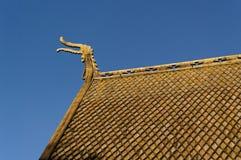 Drewniany kościół w Norwegia. Zdjęcia Royalty Free