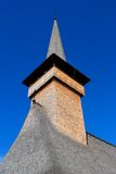 drewniany kościelny szczegół fotografia royalty free