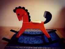 Drewniany koń Zdjęcie Royalty Free