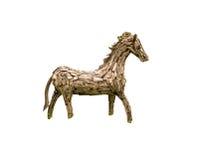 Drewniany koń Zdjęcia Royalty Free