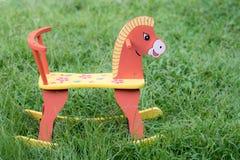 Drewniany koń Fotografia Royalty Free