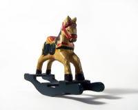 drewniany koń obraz stock