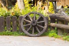 Drewniany koło Obraz Stock