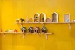 Drewniany kolekcja model Fotografia Royalty Free