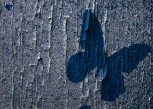 Drewniany kolorowy tło z motylami Tło Fotografia Royalty Free