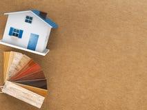 Drewniany koloru przewdonik dla domowej dekoraci Obraz Stock