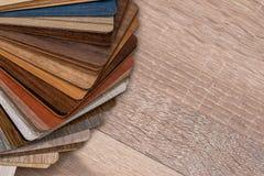 Drewniany koloru przewdonik dla próbki Obraz Stock