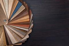 Drewniany koloru przewdonik dla próbki Obrazy Royalty Free