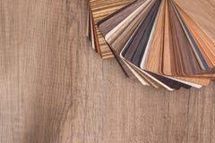 Drewniany koloru przewdonik dla próbki Zdjęcie Stock