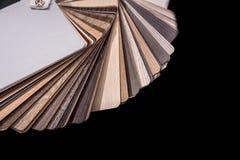 drewniany koloru przewdonik dla próbki odizolowywającej Zdjęcie Royalty Free