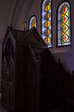 Drewniany konfesjonał w kościół katolickim zdjęcie royalty free
