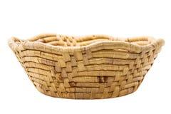 Drewniany kosz Zdjęcie Stock