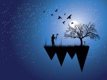 Drewniany krajacz iść ciąć drzewa Obraz Stock