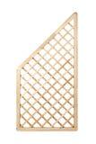 Drewniany kratownicy ogrodzenie Zdjęcia Royalty Free
