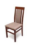 Drewniany krzesło odizolowywający Obrazy Royalty Free