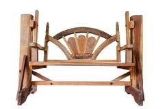 Drewniany krzesło Zdjęcie Royalty Free