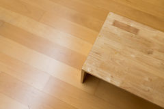 Drewniany krzesło Obrazy Royalty Free