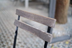 Drewniany krzesło obraz royalty free