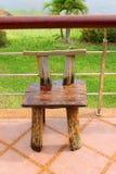 Drewniany krzesło, domowi furnitures Obrazy Stock