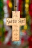 Drewniany krzyż Fotografia Royalty Free