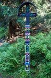 Drewniany krzyż Obraz Stock